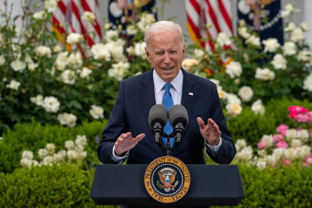 Joe Biden nu crede că reacţia Israelului la atacuri este exagerată, dar vrea revenirea la calm