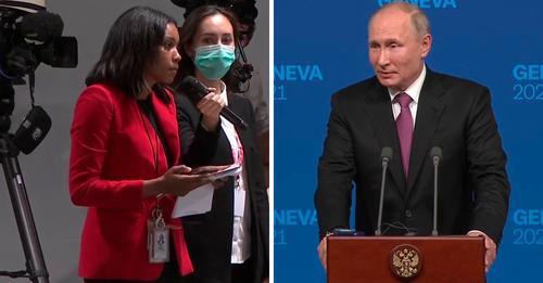 """Cine este jurnalista care l-a întrebat pe Putin """"De ce vă este atât de frică?"""""""