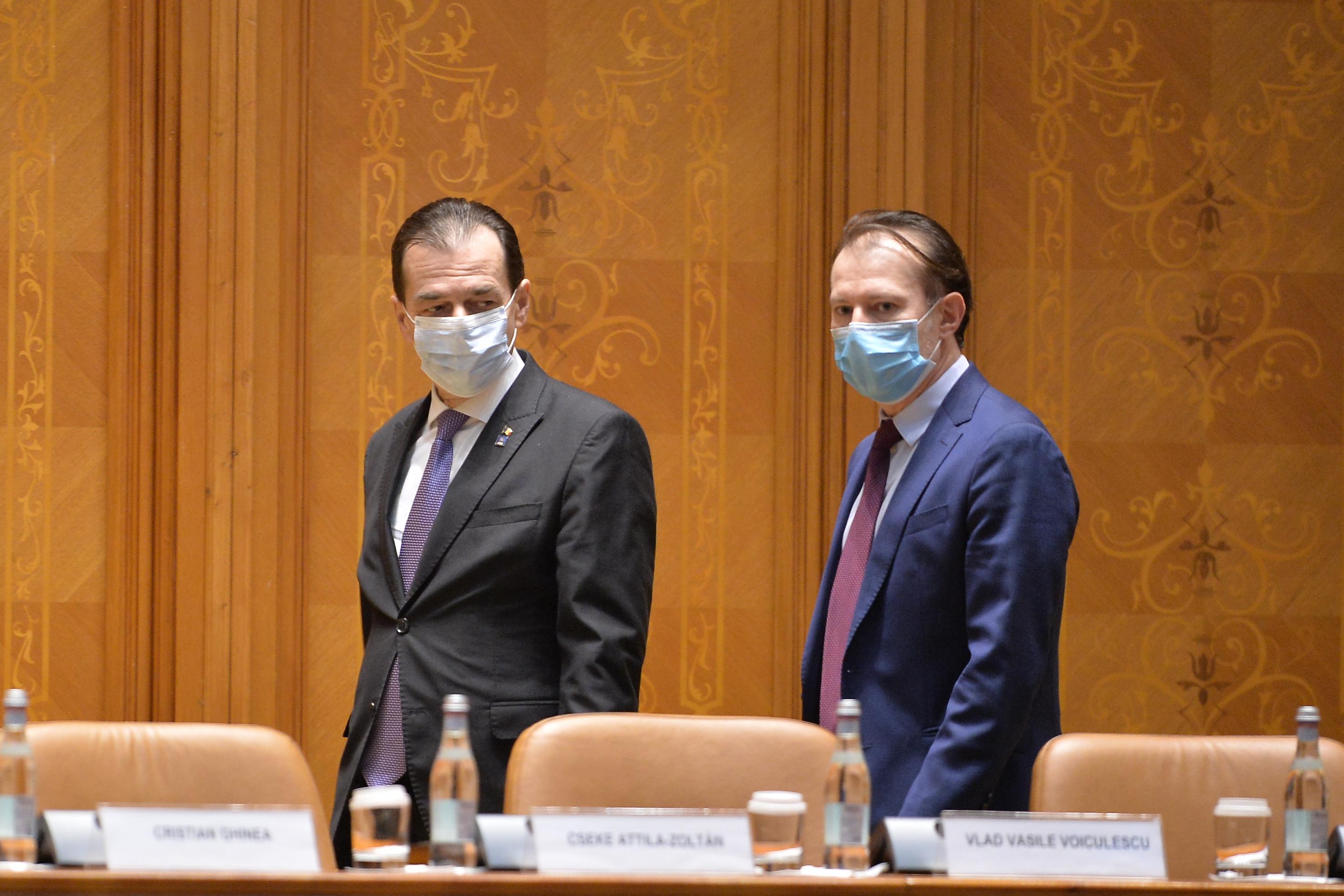 Replica lui Orban pentru Cîţu: Candidatul oficial pentru funcţia de prim-ministru am fost eu