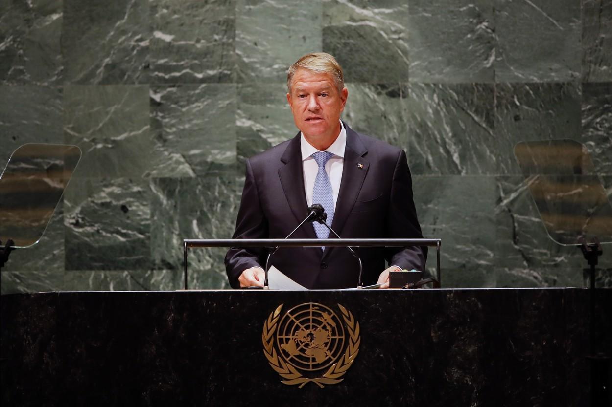 Iohannis, la ONU: Pandemia de COVID-19 ne-a schimbat fundamental modul de viaţă