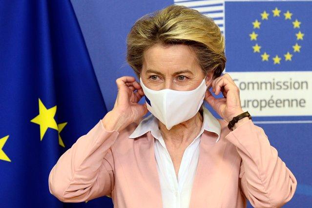 Preşedinta Comisiei Europene, Ursula von der Leyen, vine la Bucureşti. Întrevederi cu Klaus Iohannis şi Florin Cîţu|EpicNews