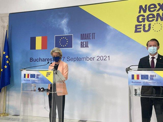 Ursula von der Leyen, la Bucureşti, despre creşterea preţului la energie: Este un fenomen global|EpicNews