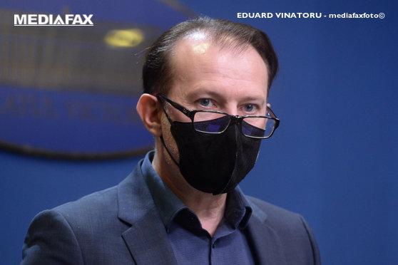 Premierul Florin Cîţu anunţă măsuri economice noi, pentru a stopa valul 4