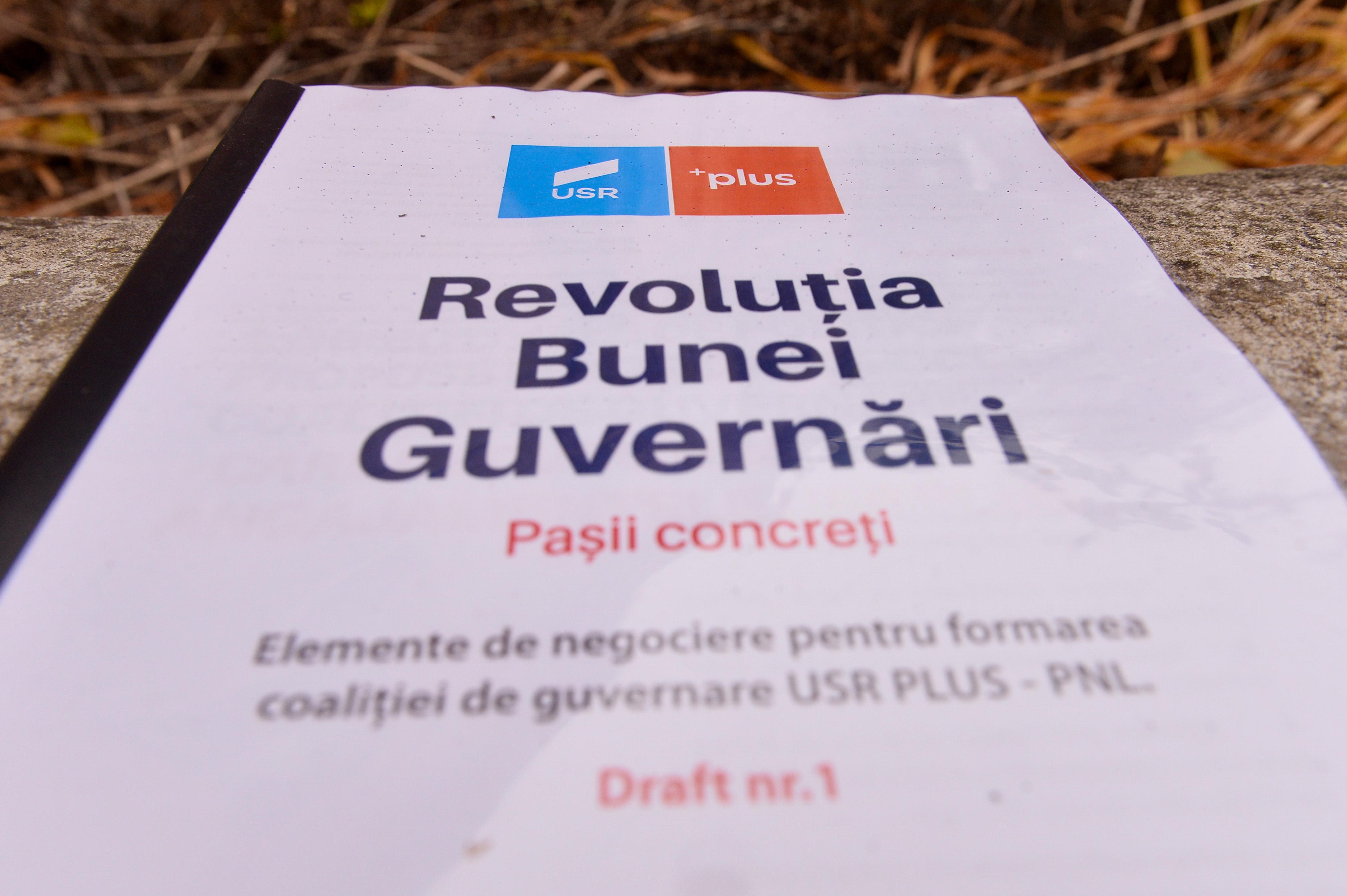 USR: Avem o nouă majoritate USL în Parlamentul României
