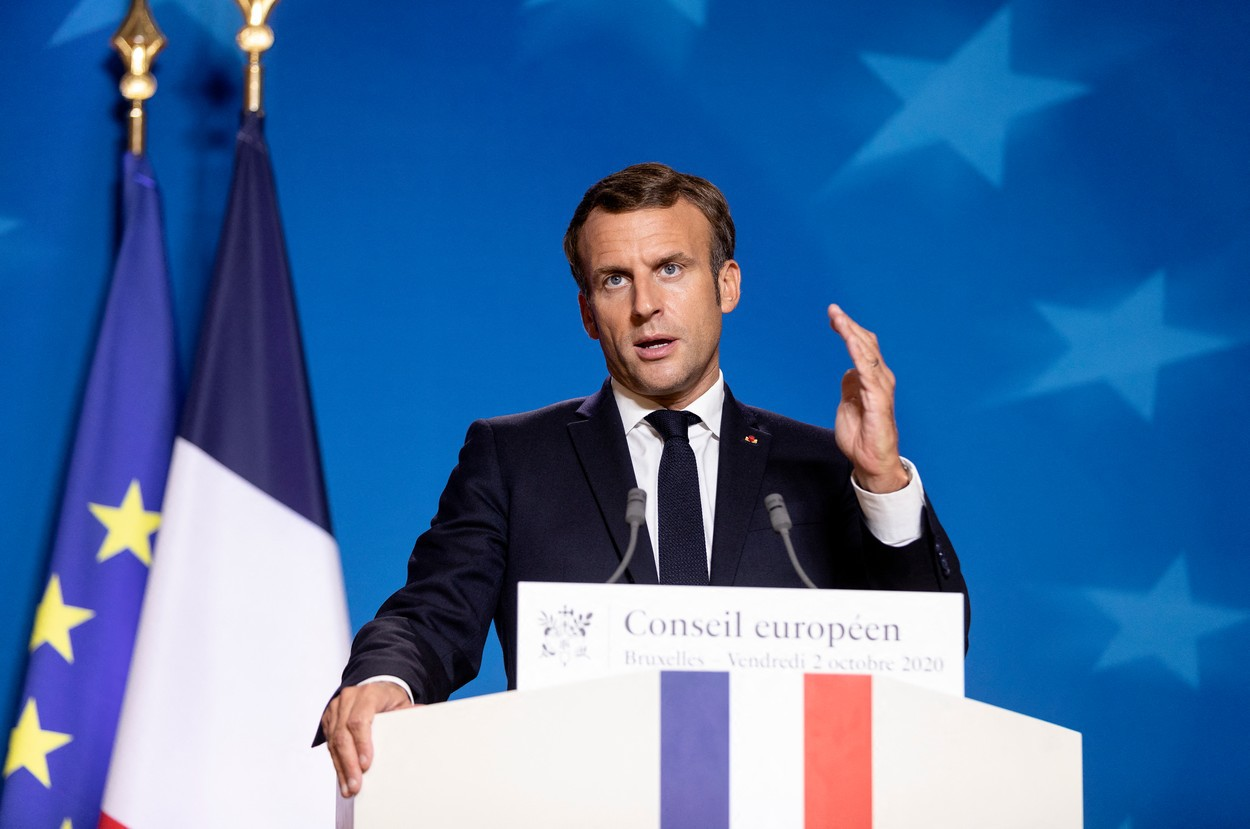 Macron se va întâlni cu preşedintele Poloniei, pe fondul tensiunilor dintre UE şi Varşovia