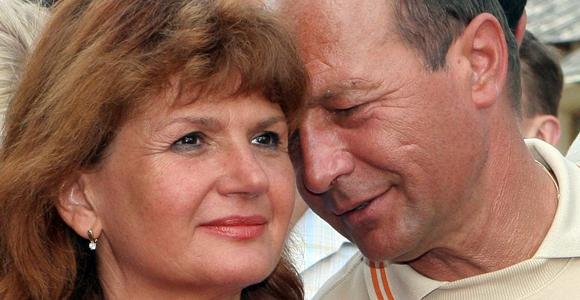 Maria si Traian Basescu