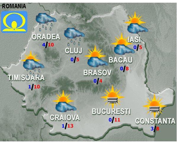 Prognoză Meteo Incredibilă Pentru Sfarsit De Ianuarie Vreme