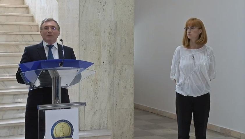 VIDEO | Primele declaraţii ale procuror-şef interimar al DNA, Anca Jurma, după revocarea lui Kovesi: Acordăm o prioritate absolută respectării normelor procedurale şi drepturilor cetăţeanului