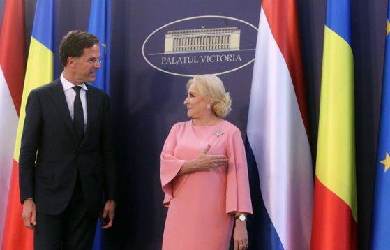 Imaginea articolului Dăncilă i-a cerut premierului Olandei să susţină aderarea României la Schengen. Răspunsul lui Mark Rutte n-a fost chiar cel aşteptat
