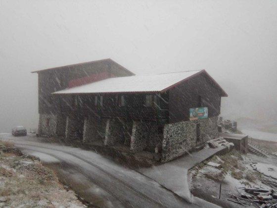 Imaginea articolului Stratul de zăpadă de la Bâlea Lac măsoară 13 centimetri