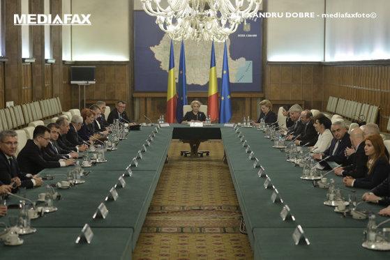 Imaginea articolului Dăncilă, la începutul şedinţei de Guvern: Avem resursele pentru plata pensiilor şi salariilor