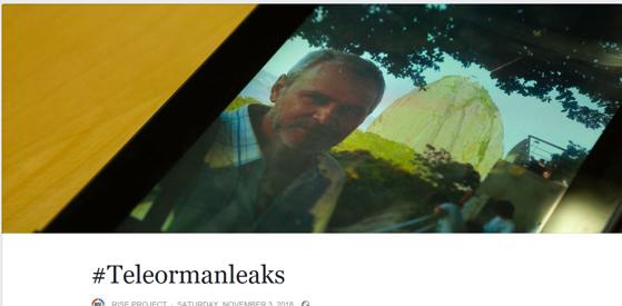 """Imaginea articolului Anchetă internă la Tel Drum, după ce date ale firmei au apărut în valiza lăsată pe un câmp din Teleorman: """"Dacă sunt adevărate, atunci e cineva din companie"""""""