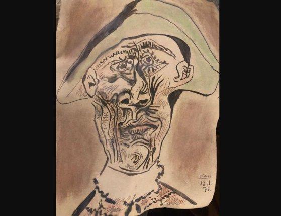 Imaginea articolului Un tablou furat, pictat de PICASSO, a fost găsit îngropat în Tulcea, într-un loc total neaşteptat. Descoperirea epocală a fost făcută în urma unui pont anonim