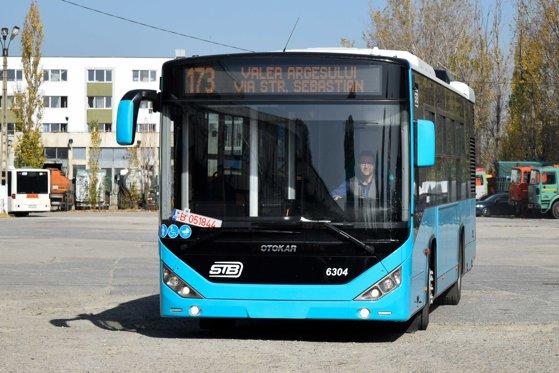 Imaginea articolului Când ies pe străzile Capitalei primele autobuze turcoaz Otokar. Pe ce linii vor circula