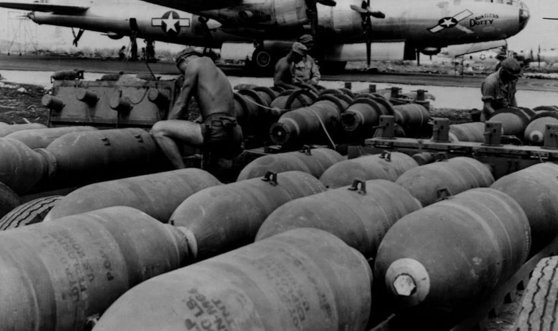 Imaginea articolului O bombă de aviaţie din al doilea Război Mondial a fost găsită lângă o fostă balastieră din Prahova