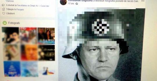 Liderul local PSD care a postat o imagine trucată cu Iohannis în ...