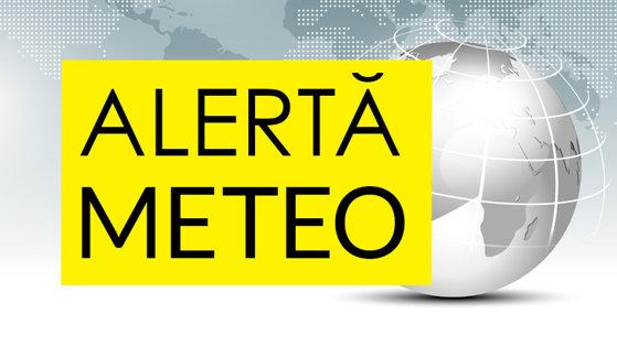 Imaginea articolului Alertă meteo: ANM a emis atenţionare cod galben pentru cinci judeţe