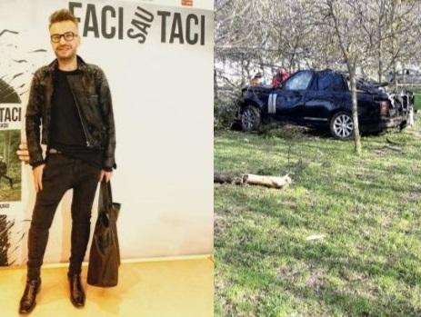 EXPERTIZA preliminară a maşinii conduse de Răzvan Ciobanu: Airbag-urile s-au deschis la 126 km/h