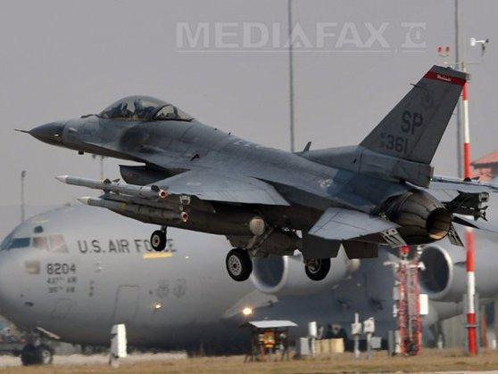 Statele Unite au trimis în România sute de militari şi avioane F-16, pentru descurajarea Rusiei