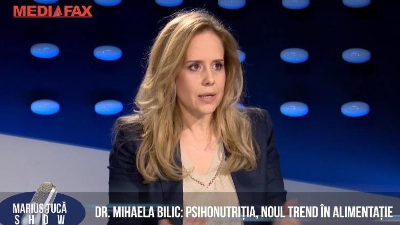 """Marius Tucă Show. Dr. Mihaela Bilic: Kilogramele în plus nu sunt o boală/ """"A început să-mi fie frică de salate"""""""