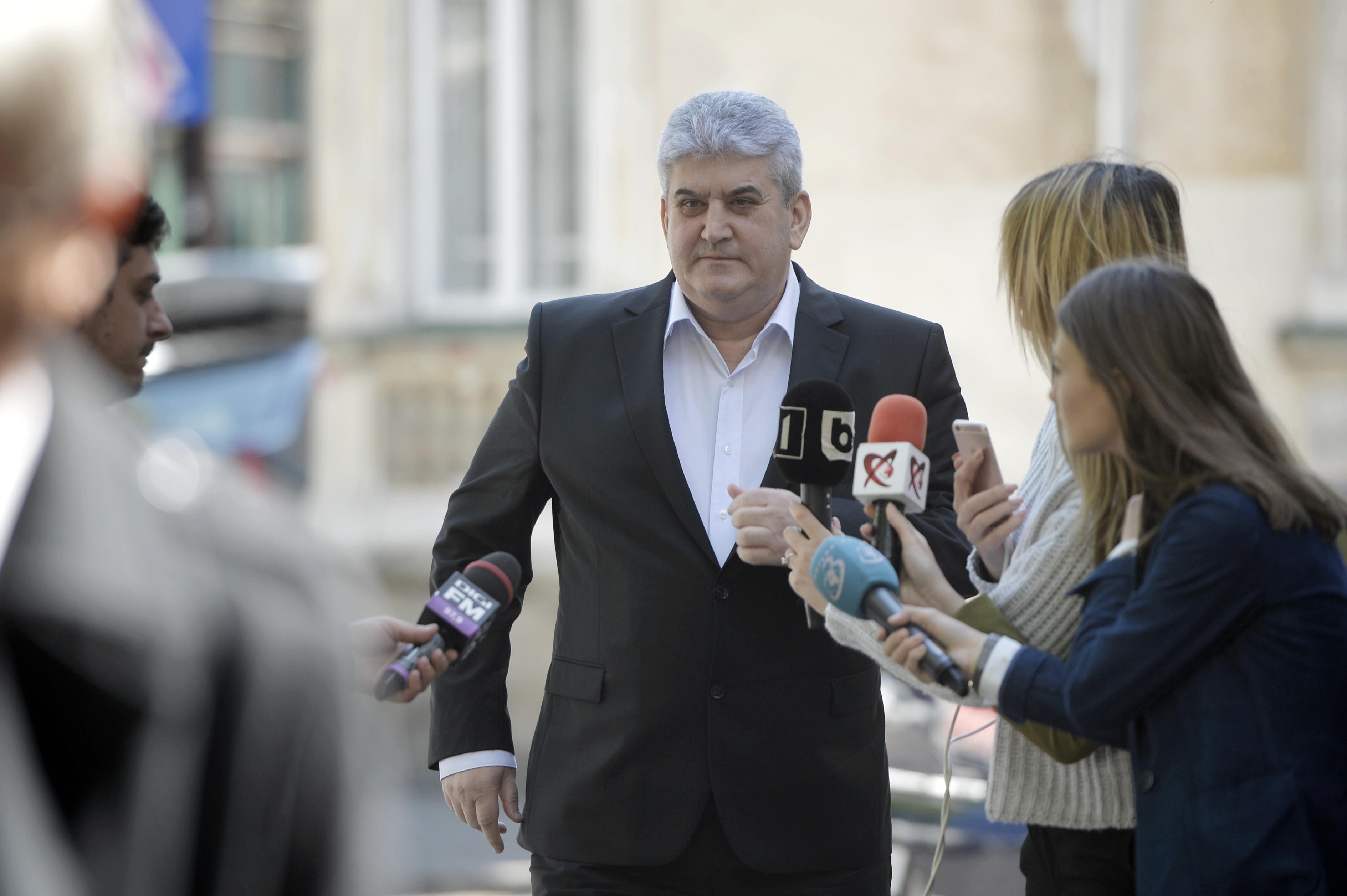 Gabriel Oprea, audiat la Secţia de anchetă a magistraţilor în calitate de martor | VIDEO