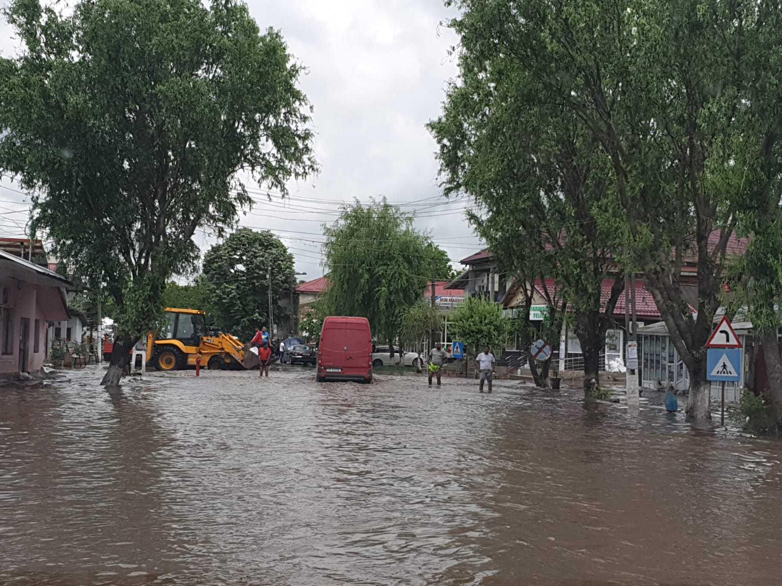 Capitala şi judeţele Argeş, Arad, Giurgiu, Hunedoara, Ilfov şi Teleorman, afectate de inundaţii
