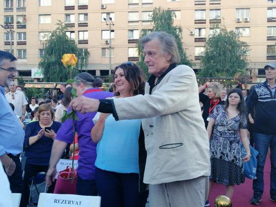 Imaginea articolului Florin Piersic, cetăţean de onoare al Iaşului: Să vă dea Dumnezeu ce ştiu eu, şi eu nu ştiu nimic   FOTO