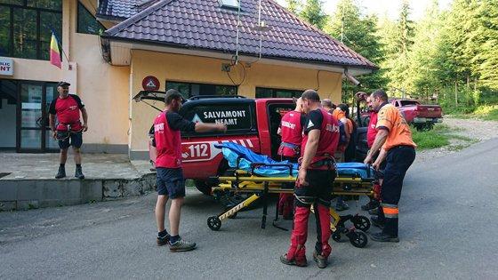 Imaginea articolului Turistă din Germania, rănită într-o zonă abruptă din masivul Ceahlău. Intervenţia salvamontiştilor a durat mai bine de cinci ore
