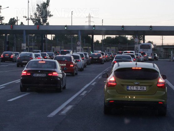 Imaginea articolului Aglomeraţie pe Autostrada Soarelui. Circulaţia îngreunată în apropierea staţiei de taxare Feteşti