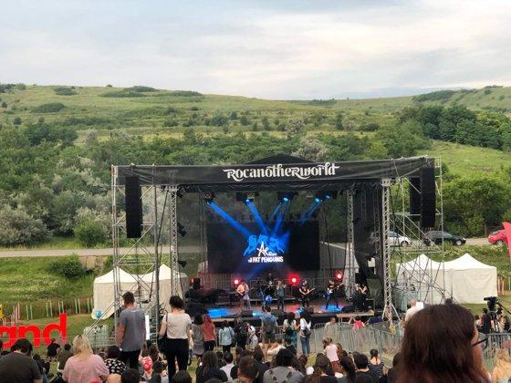 Imaginea articolului Rocanotherworld, un festival la care anul acesta se strâng bani pentru amenajarea pârtiei din Iaşi | FOTO