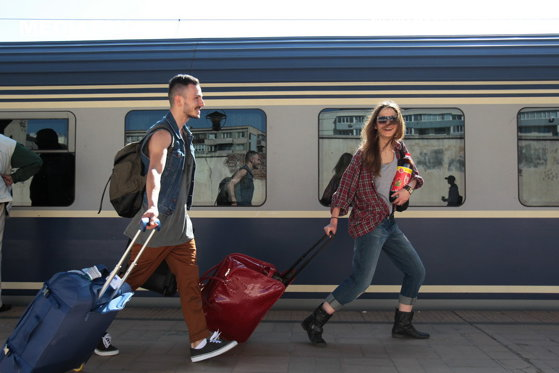 Imaginea articolului Două trenuri, de la Timişoara şi Arad, au făcut peste 30 de ore până la Mangalia
