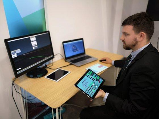 Imaginea articolului Progrese tehnologice de la Cluj: Primul simulator românesc pentru instruirea controlorilor de trafic aerian, utilizabil de pe tabletă