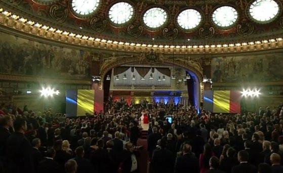 Imaginea articolului Încheierea mandatului Preşedinţiei României la Consiliul UE, marcată la Ateneul Român/ Viorica Dăncilă: Am luptat pentru o Uniune a tuturor/ Klaus Iohannis a lipsit de la eveniment