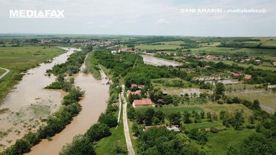 Imaginea articolului Cod galben de inundaţii pe râuri din judeţele Caraş-Severin şi Timiş