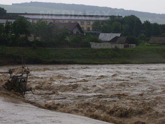 Imaginea articolului Cod galben de inundaţii pe râuri din judeţele Constanţa, Tulcea, Vrancea şi Galaţi