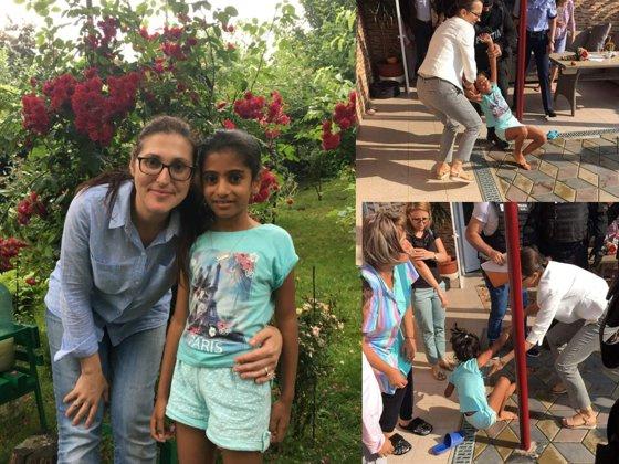 Sorina poate părăsi România: Părinţii adoptivi au ridicat, vineri, paşaportul fetiţei de la Serviciul de Paşapoarte Dolj