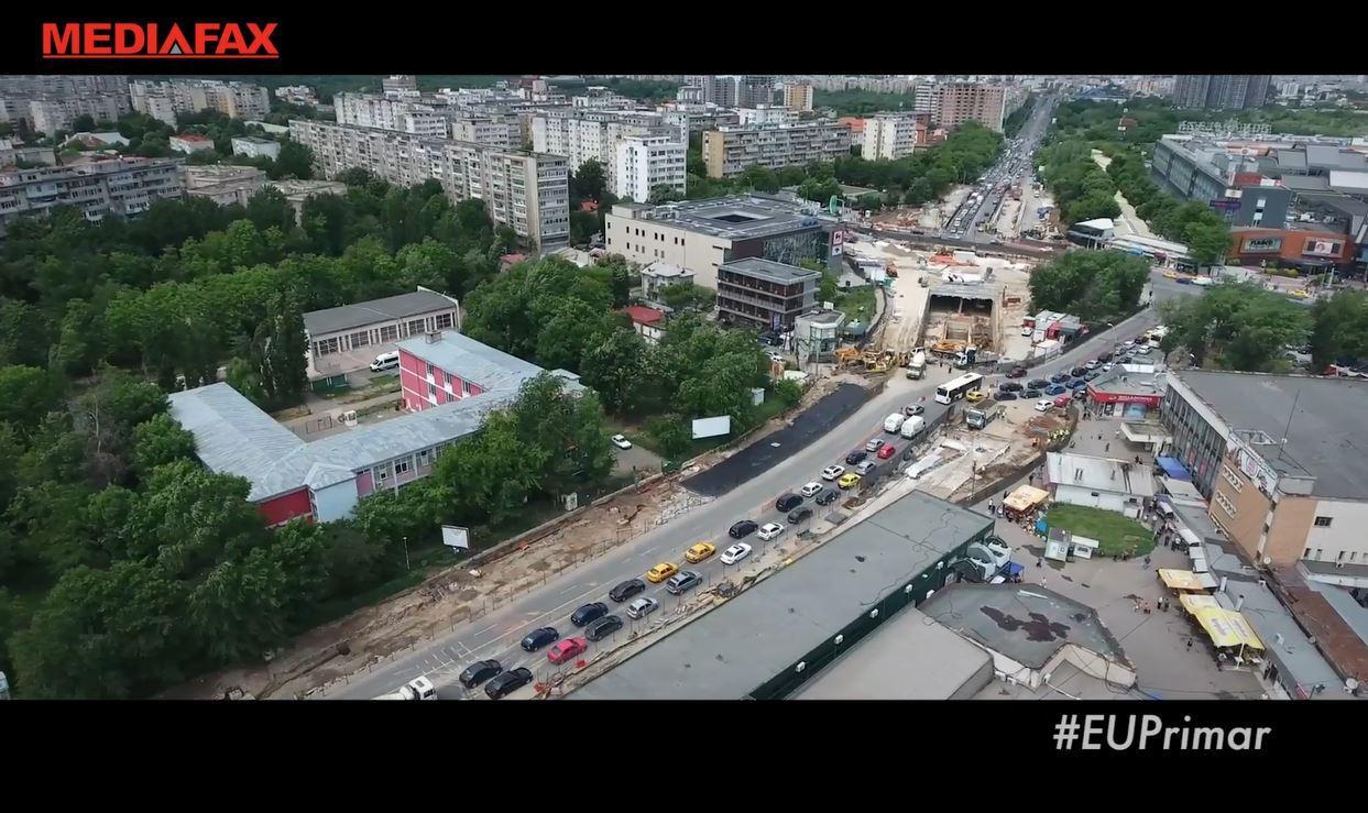 """#euprimar Bucureştiul, în top 5 cele mai aglomerate oraşe din lume. Cât ne """"costă"""" traficul cu acces liber pentru orice maşină"""