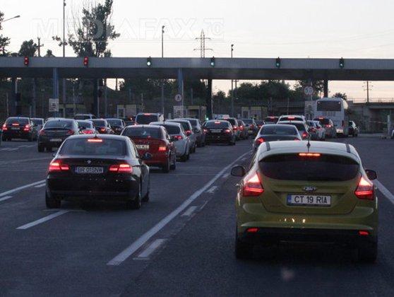 Imaginea articolului Aglomeraţie pe Autostrada Soarelui, spre Litoral. Coloane formate între Cernavodă şi Constanţa