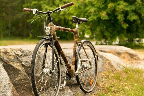 Imaginea articolului A abandonat o cariera de cercetător în Suedia pentru a construi manual biciclete din bambus în România | FOTO