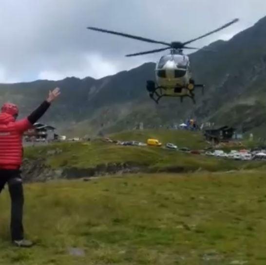 Imaginea articolului Salvamont România, după moartea alpinistului Torok Zsolt: Crestele munţilor sunt mai sărace/ IMAGINI de la intervenţia elicopterului MAI