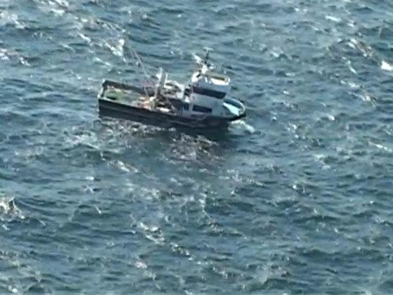 Naufragiu la Marea Neagră. Şapte persoane salvate de la bordul pescadorului Calatis