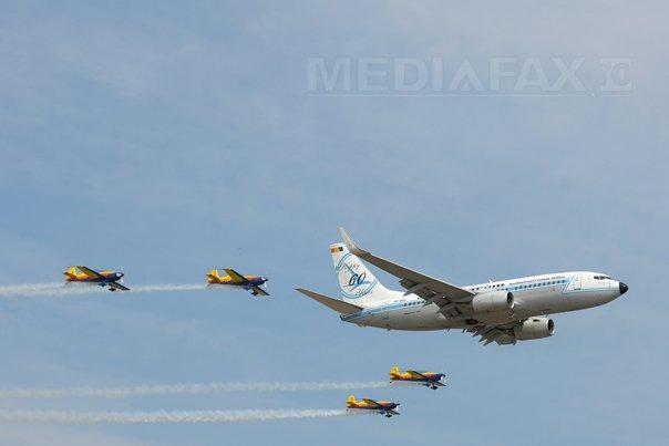 Mii de români s-au bucurat de spectacolul aviatic de la BIAS / VIDEO