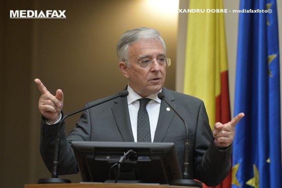 Imaginea articolului Guvernatorul BNR Mugur Isărescu, propus pentru titlul de cetăţean de onoare al Capitalei