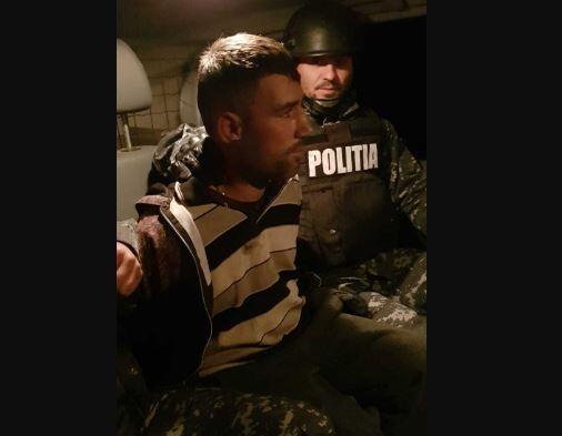 Imaginea articolului Detalii despre prinderea evadatului de la Penitenciarul Focşani: Bărbatul a atacat o femeie în propria ei casă şi i-a furat banii