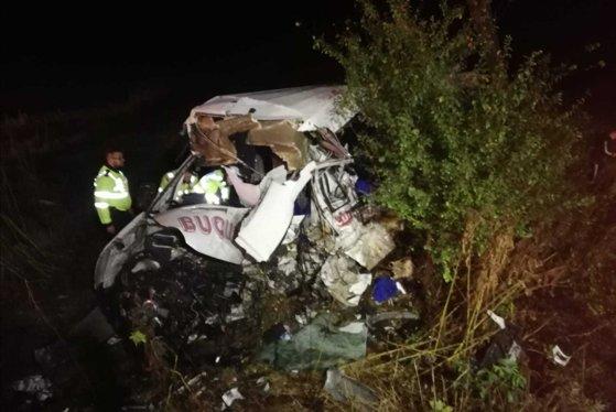 Imaginea articolului Răniţii în accidentul cumplit din Ialomiţa | Tânăra de 19 a fost detubată, dar este încă în risc vital. Ceilalţi trei răniţi, în stare stabilă