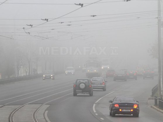 Imaginea articolului Atenţionare METEO | Cod galben de ceaţă în patru judeţe din ţară: Vizibilitatea scade sub 200 de metri