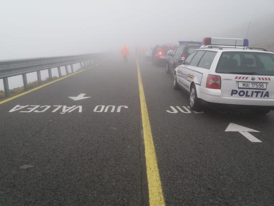 Imaginea articolului Vizibilitate redusă pe Autostrada Soarelui. Circulaţia rutieră se desfăşoară în condiţii de ceaţă densă