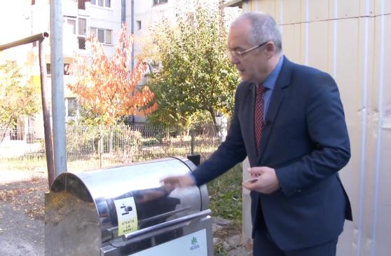 Prima platformă subterană pentru colectarea selectivă a deşeurilor. Accesul se face pe bază de cartelă, iar sistemul a fost inaugurat de Emil Bloc, la Cluj-Napoca – VIDEO