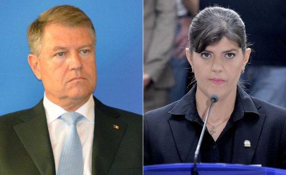 Imaginea articolului Iohannis a eliberat-o din funcţia de procuror DIICOT pe Kovesi, după numirea la Parchetul European