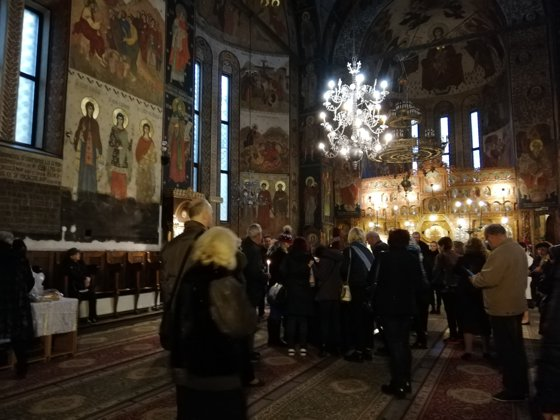 Imaginea articolului FOTO | Iubitorii muzicii se despart de Mihai Constantinescu la Biserica Sfânta Vineri Nouă